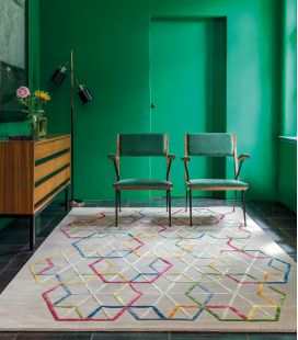 Rug Ligne Pure Hexagon