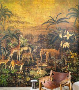 Wallpaper Casamance Panoramas Tanzania 7497