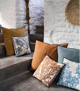 Cushion Cover Casamance Aigue Marine CO2445