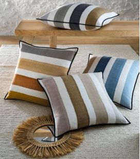 Cushion Cover Casamance Les Cabines CO2016