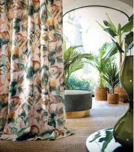 Fabric Casamance AcquaViva Melumbo 4317
