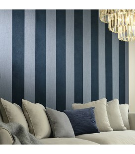 Wallpaper Arte Flamant Les Rayures Stripe Velvet and Lin 18102-16 - Sold per roll