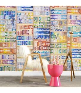 Papier peint Arte NLXL Lab Colored Chalk by Mr&Mrs Vintage MRV-09
