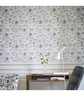 Papier peint Designers Guild Jardin des Plantes Issoria PDG713 01-06