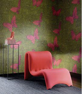 Wallpaper Elitis Soleil levant La chasse aux papillons TP 286