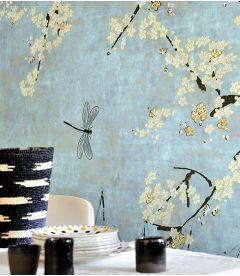 Wallpaper Elitis Soleil levant Les cerisiers sauvages TP 289