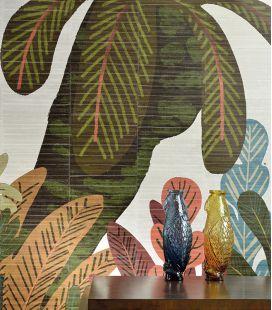 Wallpaper Elitis Anguille Big Croco Legend Waiting for Eve mural VP 427 - 3 panels