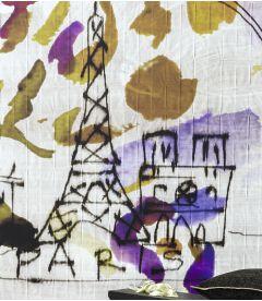 Wallpaper Elitis Paris for Ever DM 270 04-05 - Panoramic
