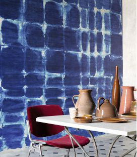 Wallpaper Elitis Indigo DM 750 01 - Panoramic