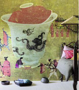 Papier peint Elitis Bolàsoup DM 864 10-11 - Panoramique
