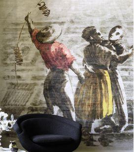 Wallpaper Elitis Le Bal DM 890 01-02 - Panoramic