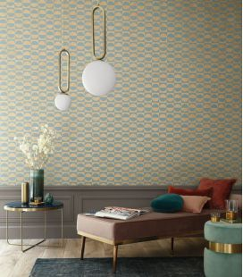 Wallpaper Casamance Delta Circles 7459