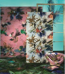 Wallcovering Christian Lacroix L'Odyssée Oiseau Fleur PCL7031