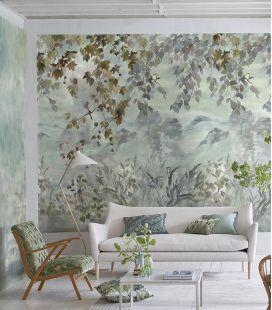 Wallcovering Designers Guild Scènes & Murals Miyako Dove 1&2 PDG1111/01-02