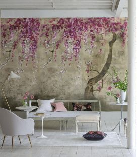Wallcovering Designers Guild Scènes & Murals Shinsha Blossom PDG1116/01-02