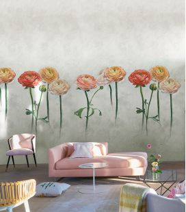 Wallcovering Designers Guild Scènes & Murals Tourangelle PDG1099/1100/1101