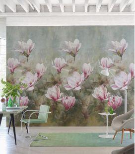 Wallcovering Designers Guild Scènes & Murals Guild Yulan Magnolia PDG1115/01